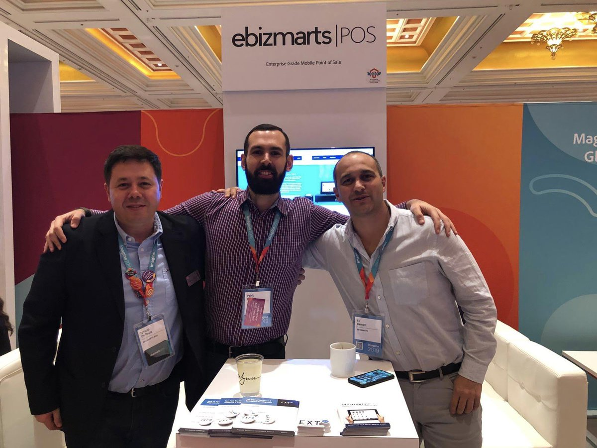 WebShopApps: Absolutely love these guys from @ebizmarts @di_pola #MagentoImagine https://t.co/yjOlfs8EcL