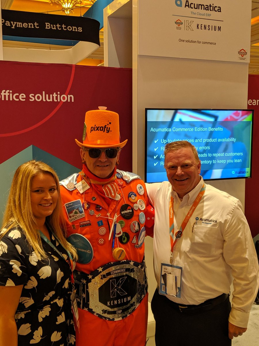 kensium: Business casual has a whole new meaning now.n#MagentoImagine n@Eric_M_Moreau @CommBiz_mtbn@magento https://t.co/rL1rt5mUYW