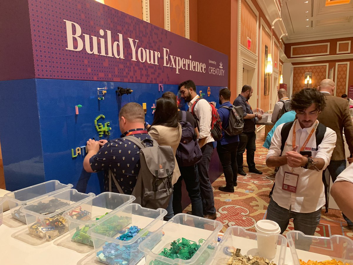Creatuity: Come by the Marketplace and get creative with us at our LEGO wall! #magentoimagine https://t.co/UG6Nj1tPbP
