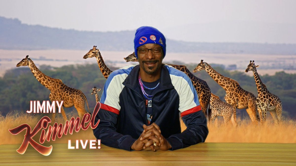 RT @JimmyKimmelLive: .@SnoopDogg is back with a NEW #PlizzanetEarth! https://t.co/6YhxCsY1gX