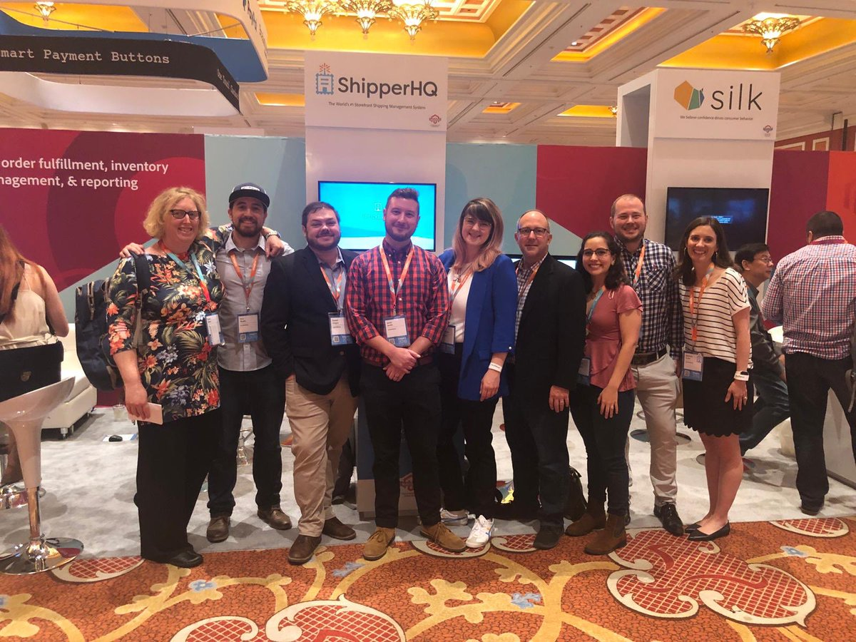 ShipperHQ: Our wonderful team on the ground at #MagentoImagine! https://t.co/fA20ZIMVWk