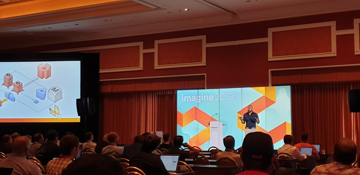 RicTempesta: The mighty @_Talesh showing the history of security in Magento at #magentoimagine https://t.co/ZRGRVaFvmP