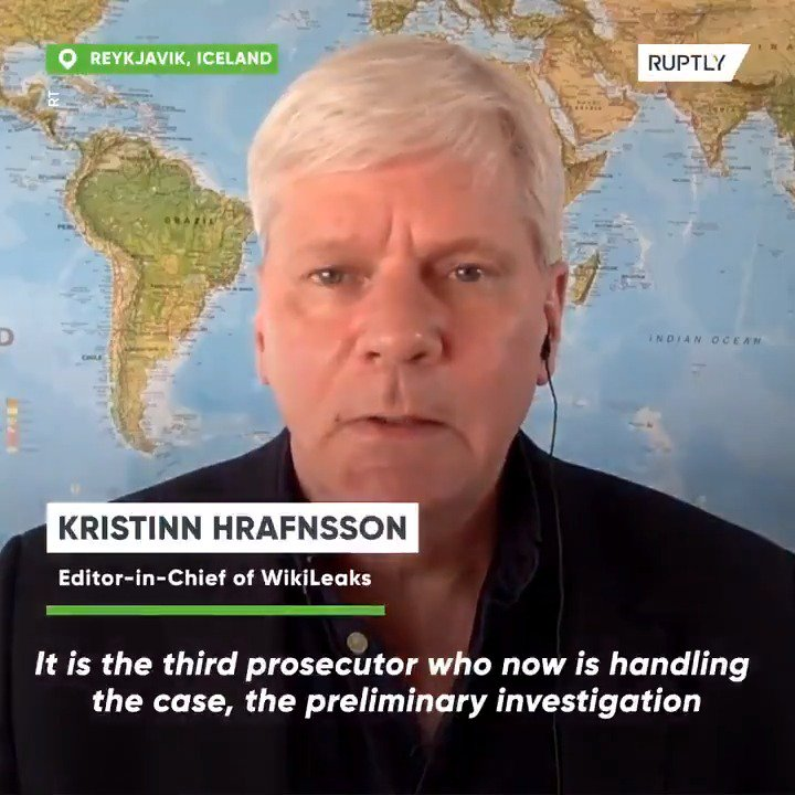 RT @Ruptly: Sweden's decision to reopen #Assange rape case politicised – #WikiLeaks editor #Hrafnsson https://t.co/WbhPvusWYX