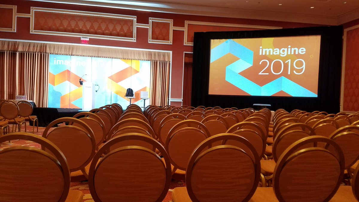MissDestructo: The morning sessions start soon! Excited for the diversity panel this morning. #MagentoImagine https://t.co/OdxX5axnan