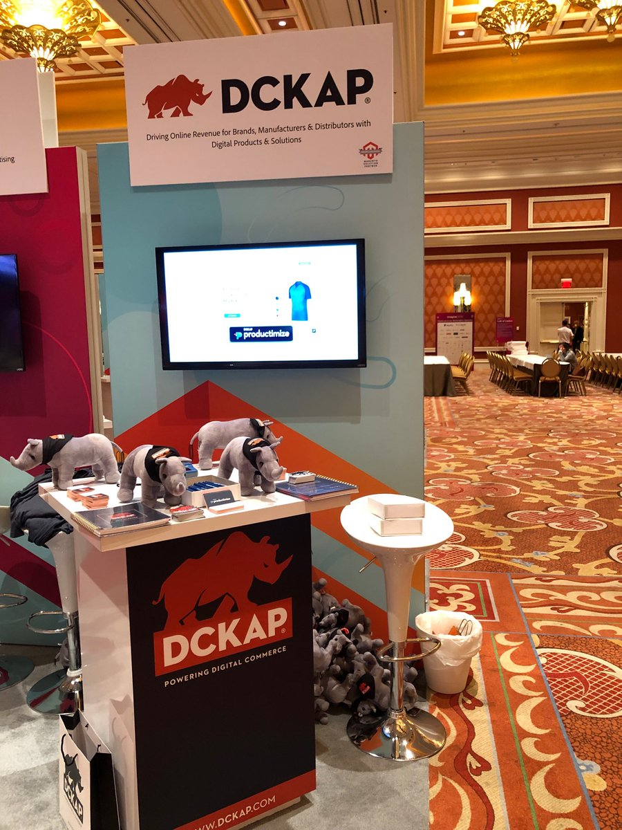 productimize: We're at Booth #700. Stop by and say Hello! Grab those rhinos 🔥n#magentoimagine #MagentoImagine2019 #ultimate5x https://t.co/XqAdOsp02P