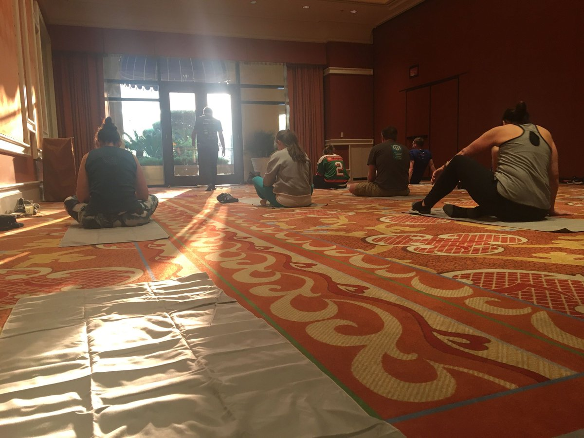 nexcess: Mage Yoga with @wagento was a great way to start the first official day of #MagentoImagine! https://t.co/MHEun0SJjF