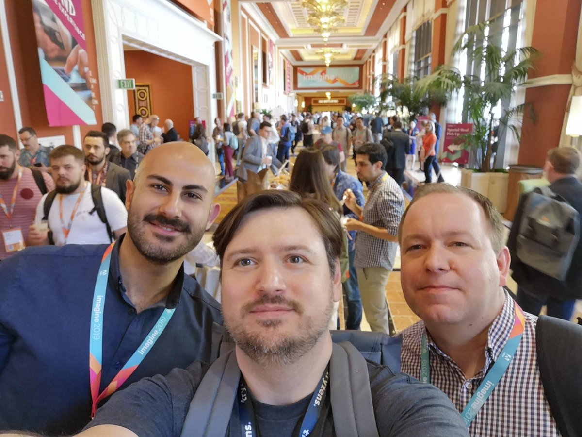 Tryzens: Great to be at Magento Imagine in Las Vegas. Make sure you find the Tryzens team and say hello! #magentoimagine https://t.co/smPfLRq9XI