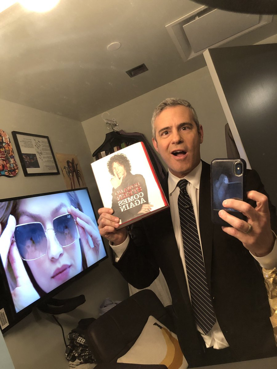 RT @Andy: Got the new @HowardStern book! Can't wait! https://t.co/sKmhamJXDY