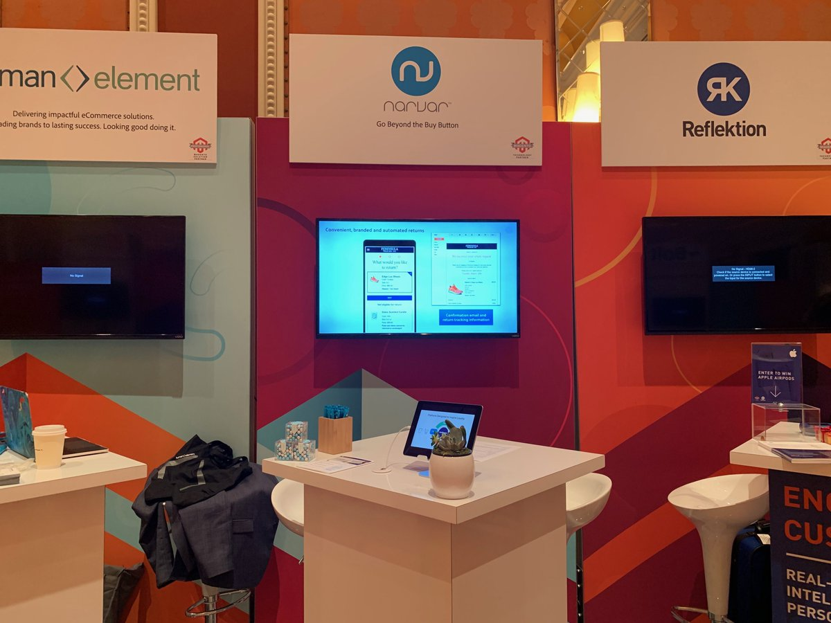 narvarinc: @magento has a stellar lineup for today! Come visit us at booth 112! #ecommerce #MagentoImagine https://t.co/33mrRodyaw