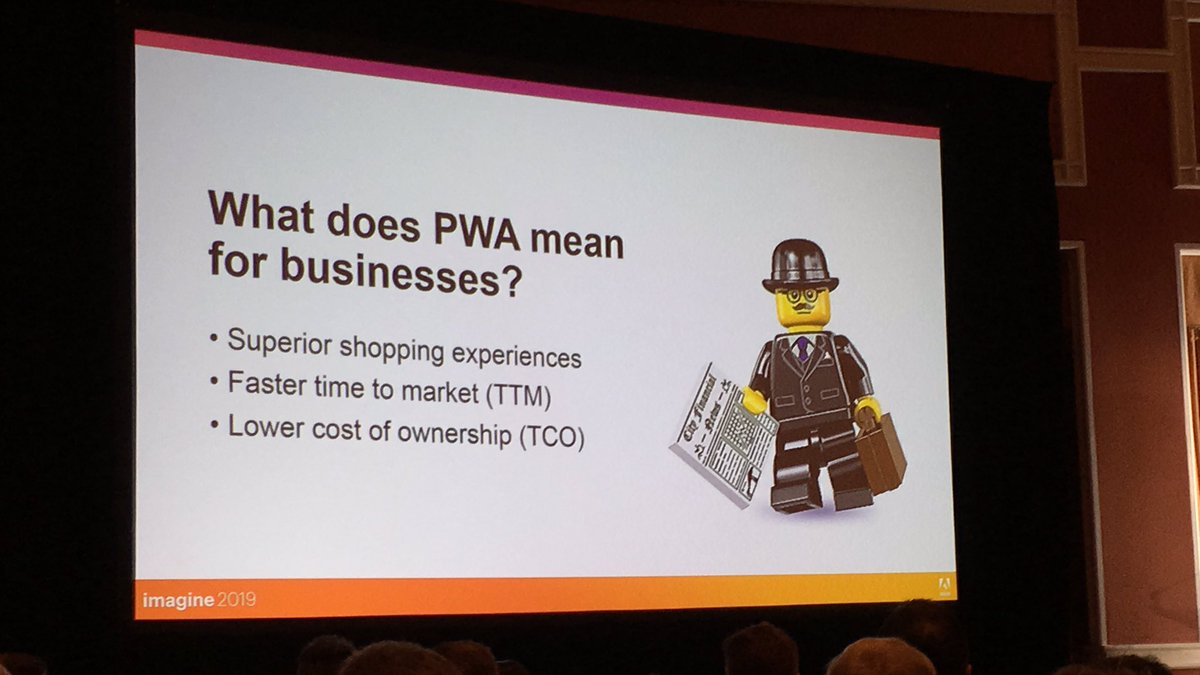 blackbooker: What does PWA mean for *your* business? #MagentoImagine https://t.co/kbTZYXeHzD