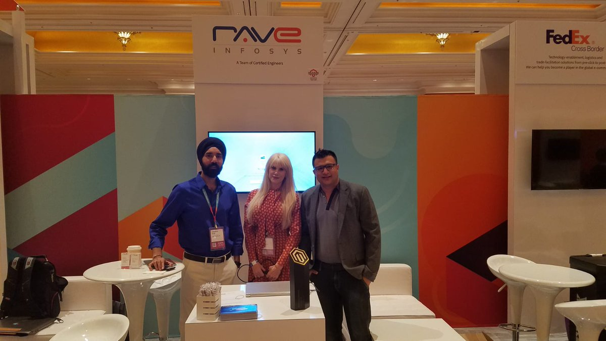 tarandeep: #MagentoImagine @raveinfosys All set. Come stop by for a quick chat. https://t.co/gLbJMwTTOl