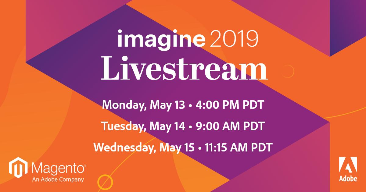 magento: #MagentoImagine Livestream Reminder: Watch General Session 1 today at 4:00 PM PDT https://t.co/mGaH5jTcWU https://t.co/8q5JJpoZZS