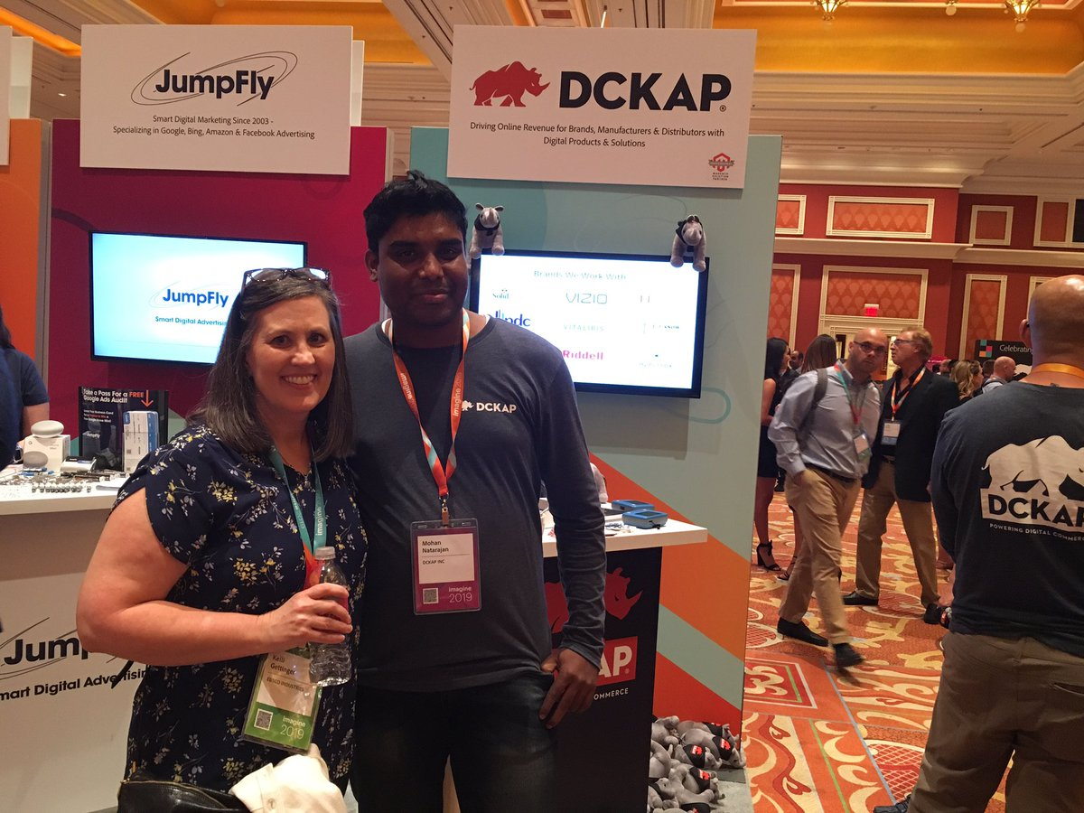 DCKAP: Thank you Kelli @EBSCO for stop by our Booth #MagentoImagine https://t.co/frHeOKb89w