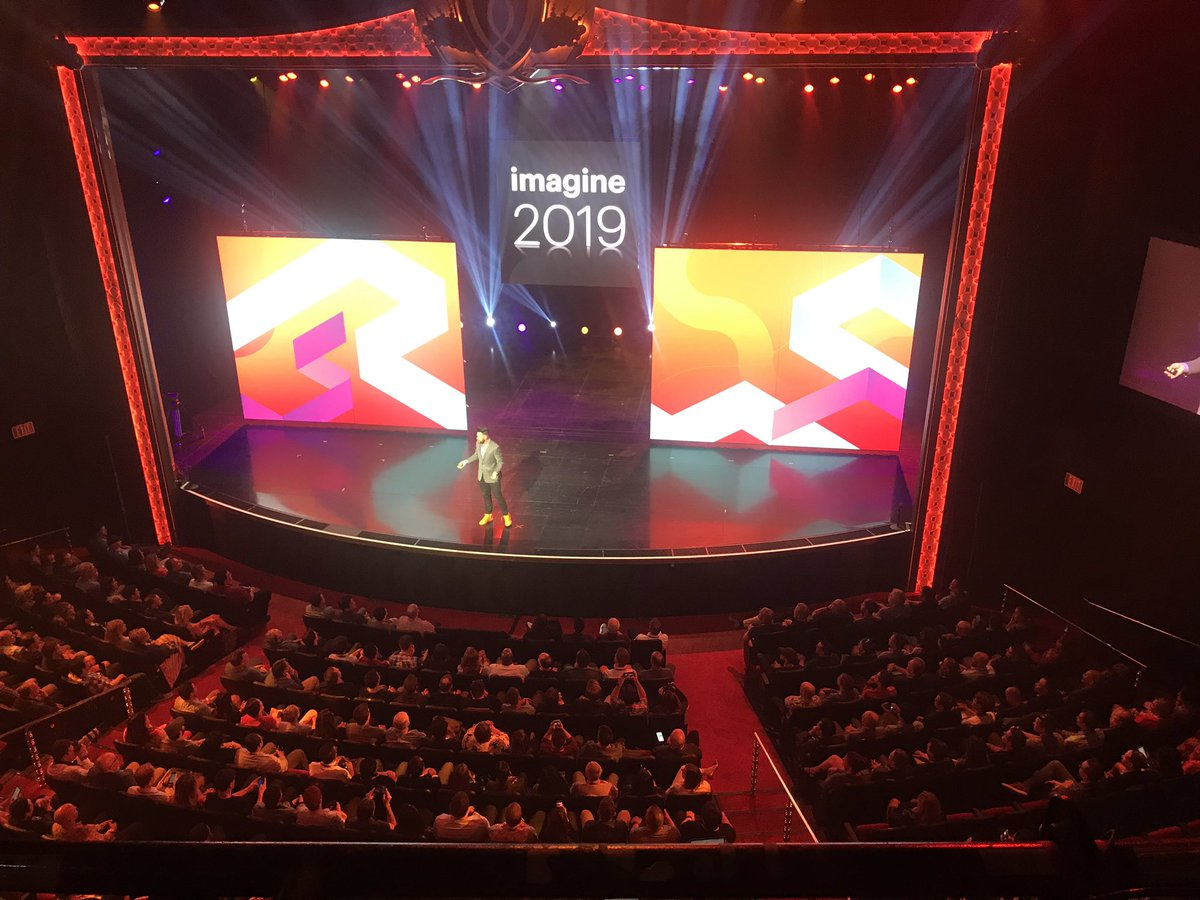 knowj: Great to have @philwinkle back on stage for the first #MagentoImagine general session https://t.co/O7Fpw0D6I9