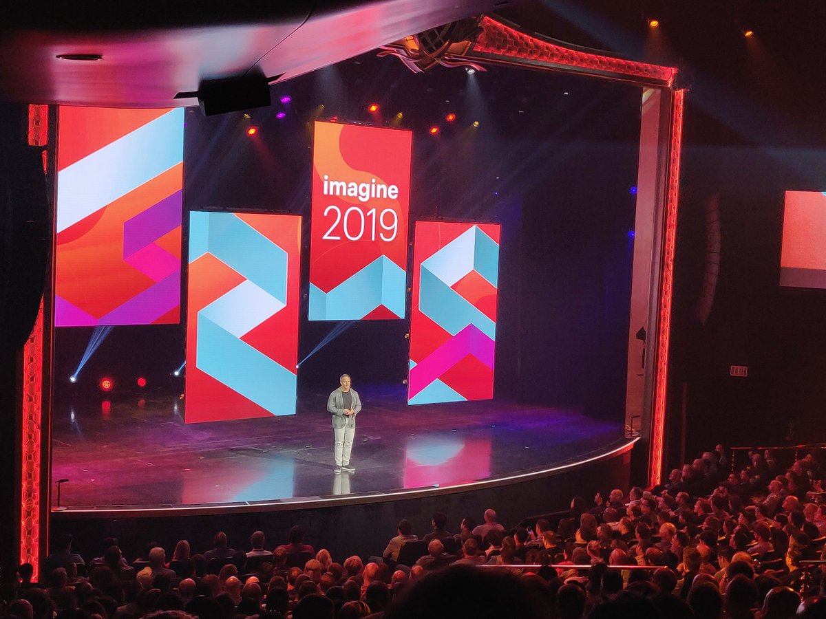 nexcess: 'It's very special, it's very unique, and you're in for a treat.' The opening keynote at #MagentoImagine has begun. https://t.co/FWvb5s1YaU