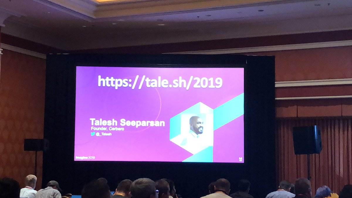pinofilice: Thank you @_Talesh for your great speech about @magento security history #magentoimagine https://t.co/rQI2Kev52h