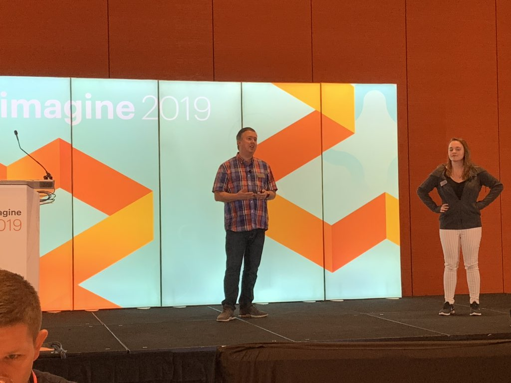 MagentoJenna: Join @JoshuaSWarren and @RebeccaBrocton talking about the @magentoassoc in Latour now! #magentoimagine https://t.co/d0hMg2xQin