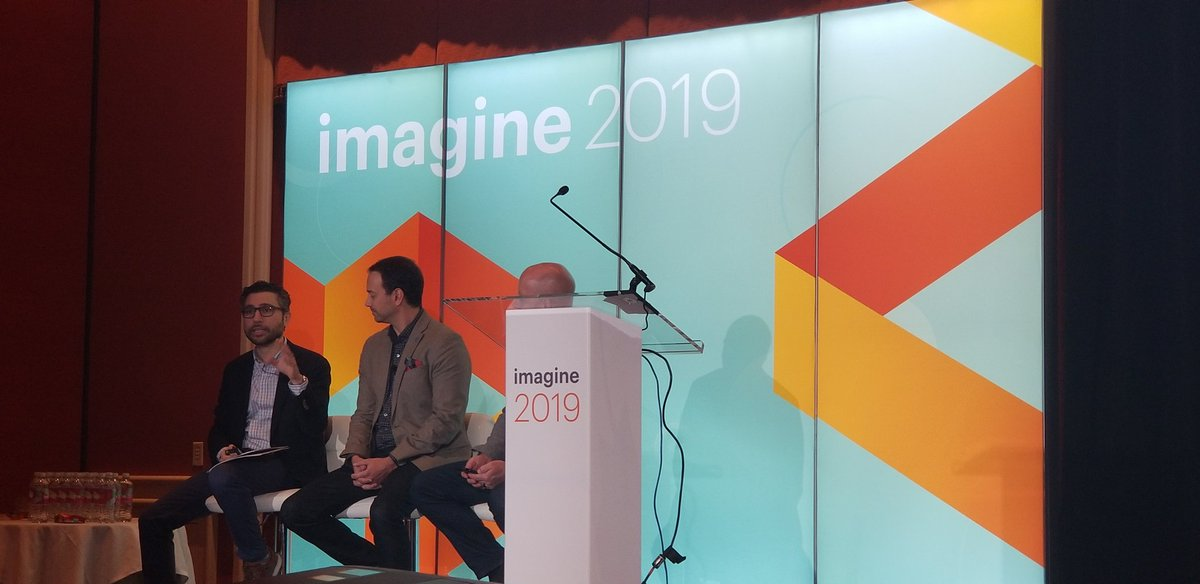 RubioAdrianaL: Getting started on 12 Rules of Digital Commerce session with @Forbes, @blueacornici and @Adweek at #MagentoImagine https://t.co/YtTYsmkls6