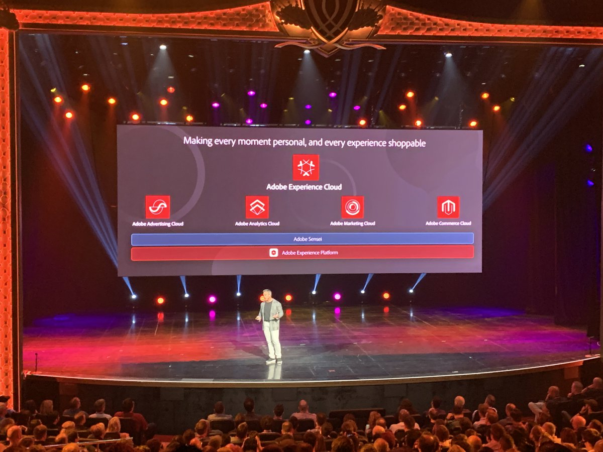 brentwpeterson: 'Every moment personal and and experience shoppable' is now a reality  #MagentoImagine @gspecter https://t.co/VmnSZgL4zn