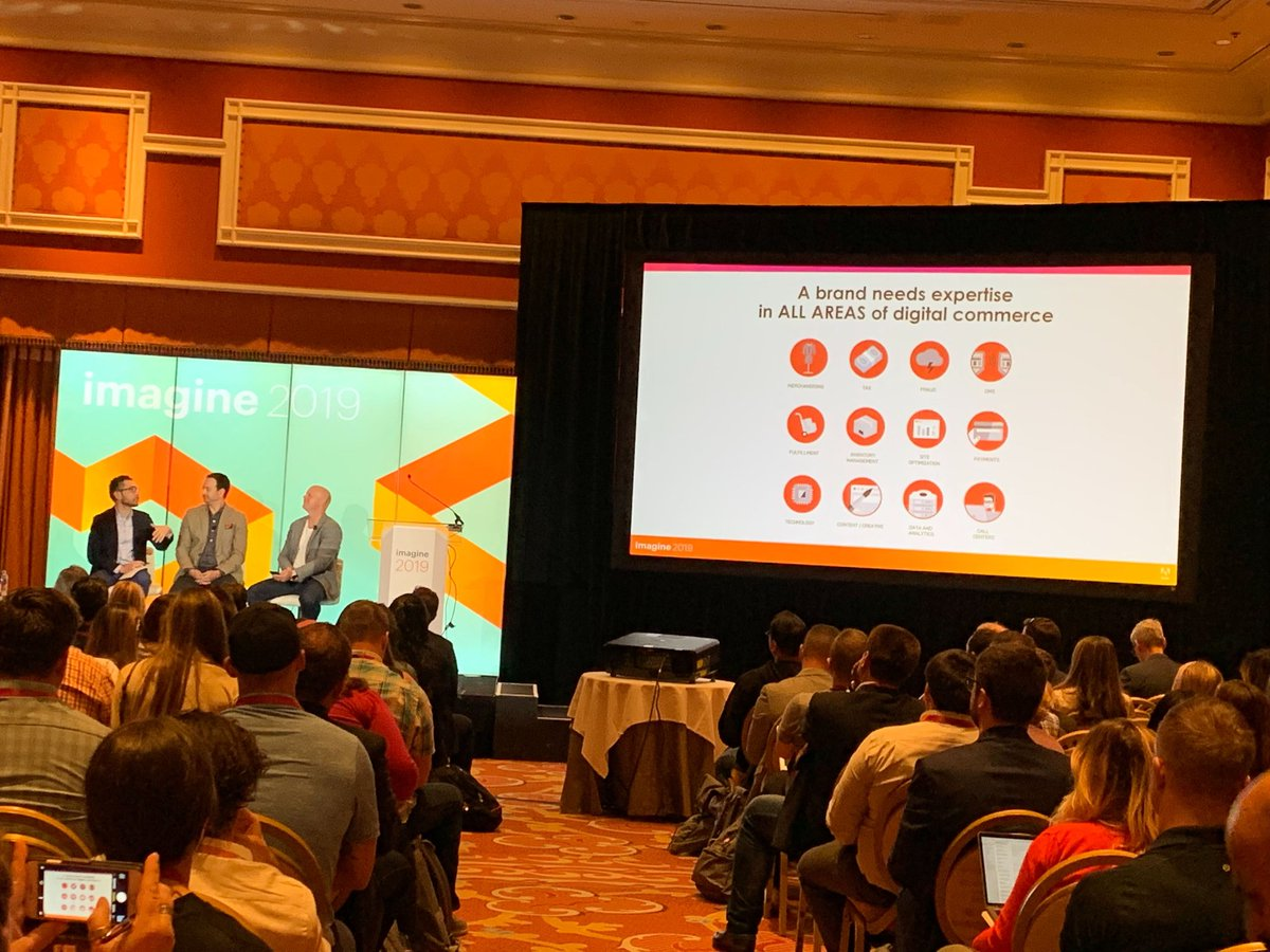 nexcess: 'Use digital commerce specialists to address gaps in your current capabilities.' At #MagentoImagine https://t.co/VfTOQ8Urn2
