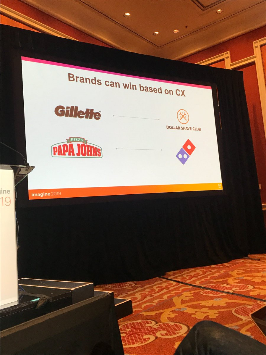 blueacornici: Brands that win based on #consumerexperience? You might recognize these brands... #MagentoImagine https://t.co/1kKbGtHSlu