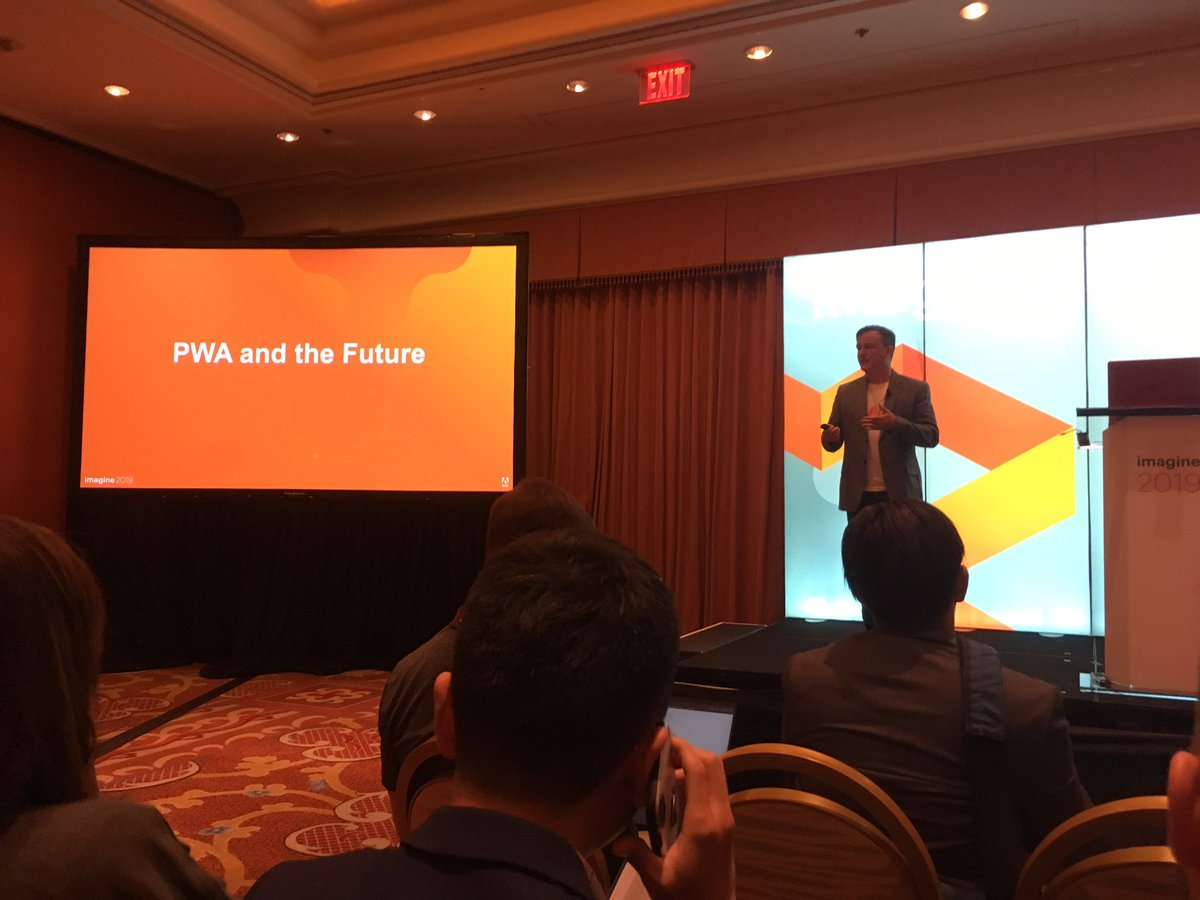 madebyzara: Learning about the future #MagentoImagine https://t.co/ON2zWwLq9c
