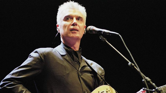 Happy Birthday to David Byrne, 67 Today (born 14 May 1952) Lead Singer and Guitarist. The Talking Heads.