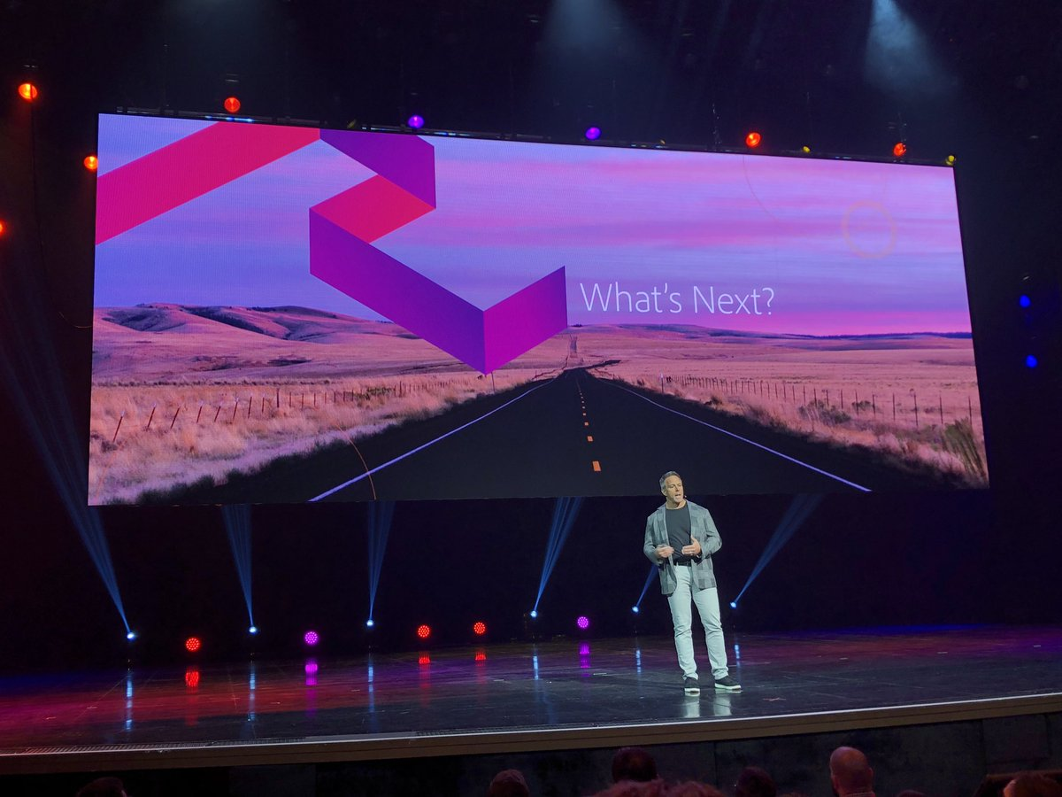 """GoldieChan: """"Ask yourself what strategic bets will you make in 2019?"""" ~ @gspecter at @Adobe & @magento #MagentoImagine https://t.co/MzUoVrUaHR"""