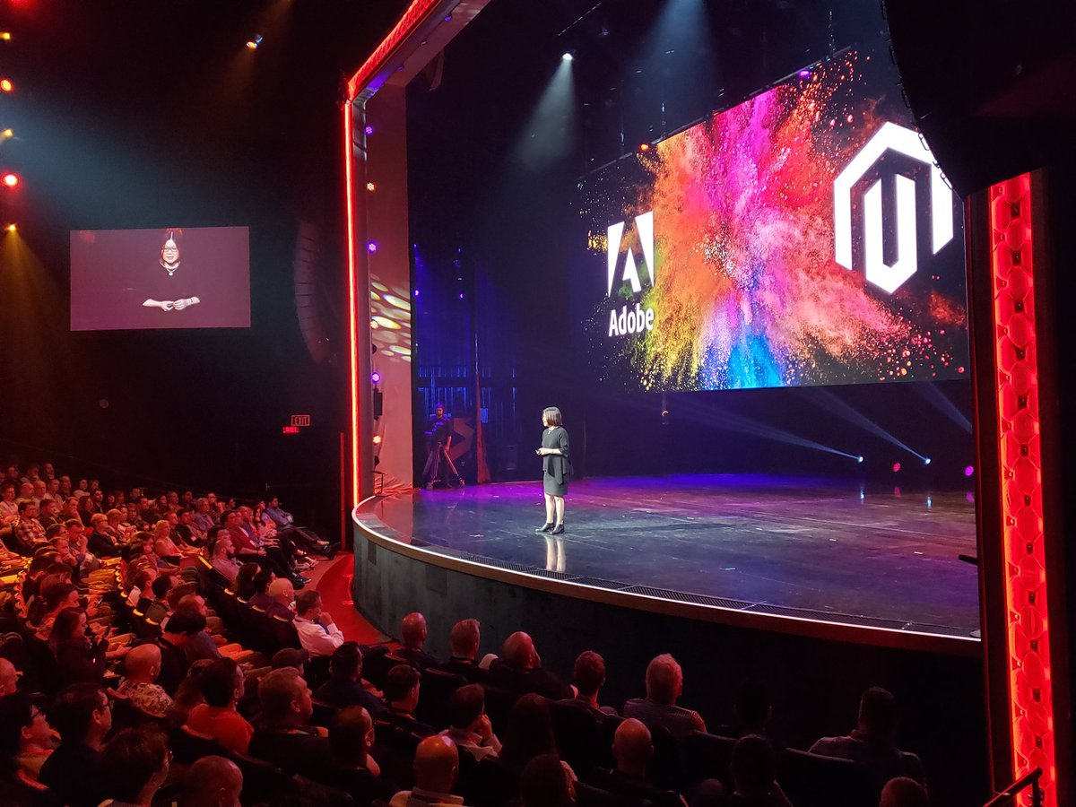magento: Gloria Chen of @Adobe talks changing the world with digital experiences at #MagentoImagine https://t.co/zT9Z73j0bx