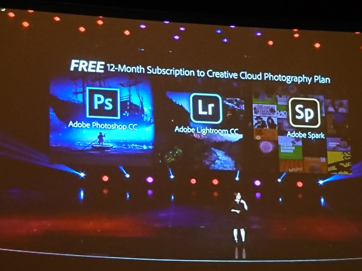 richbaik: Free gift for #MagentoImagine attendees! 12 month free subscription to @adobe Creative Cloud! @magento https://t.co/40IYt4dlYH