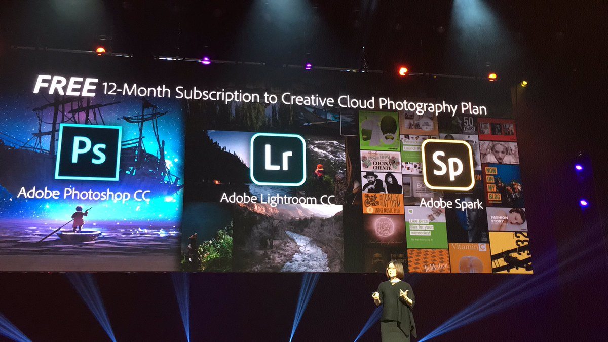 blackbooker: Who wants a free 12-month subscription to @adobe creative cloud?? All #MagentoImagine attendees just got a gift! :-O https://t.co/RNcWnDGf3W