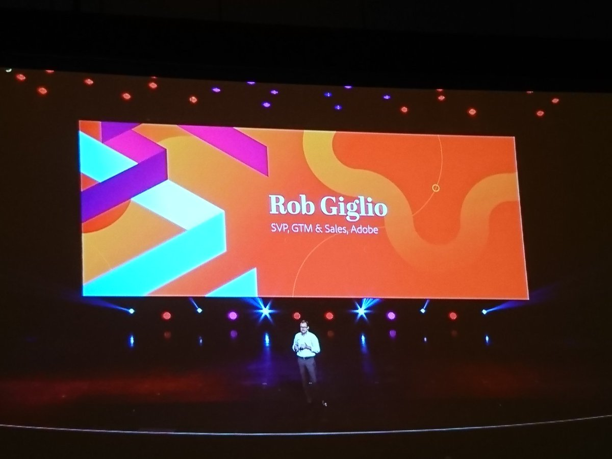 richbaik: Rob Giglio on stage now talking about @adobe transitioning to the cloud. #MagentoImagine @magento https://t.co/aLJNvICMTp