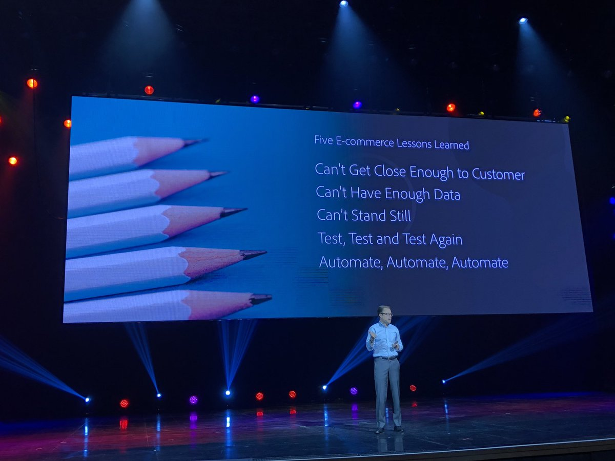 GoldieChan: 5 great #ecommerce lessons learned! #MagentoImagine @rob_giglio https://t.co/dYmfE5VsxS