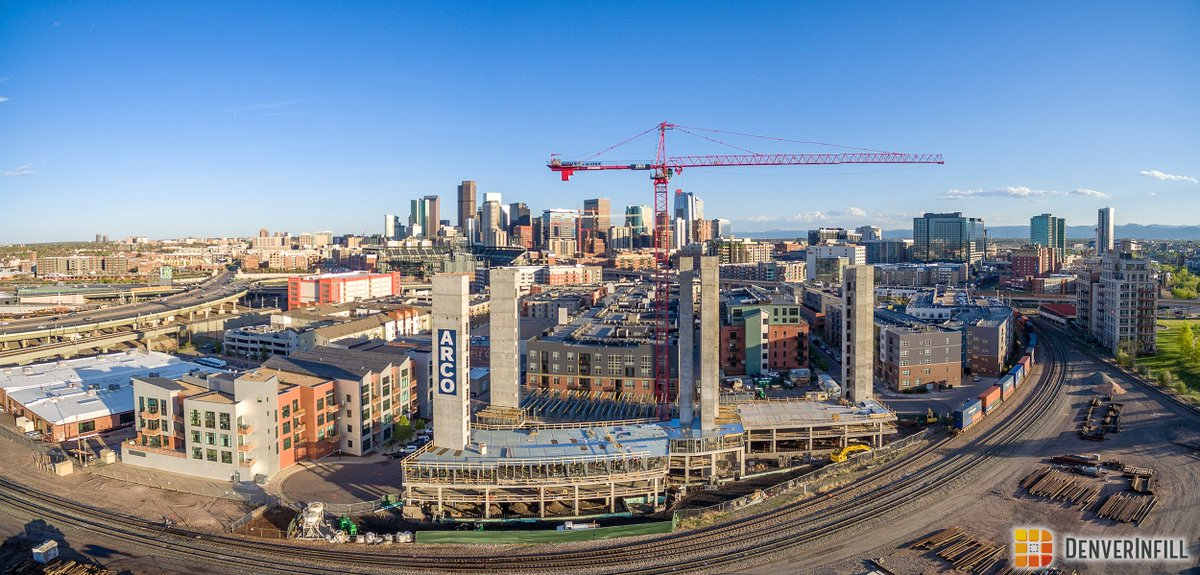 test Twitter Media - Great aerial shot of X Denver 1 by @StudioPBA going vertical. It fills in one of the last lots in the Union Station block. Energetics provided energy modeling for LEED Midrise, energy code compliance, and the Xcel EDA program.  https://t.co/0ej6IlJhjP https://t.co/PHpmlK5Wc3