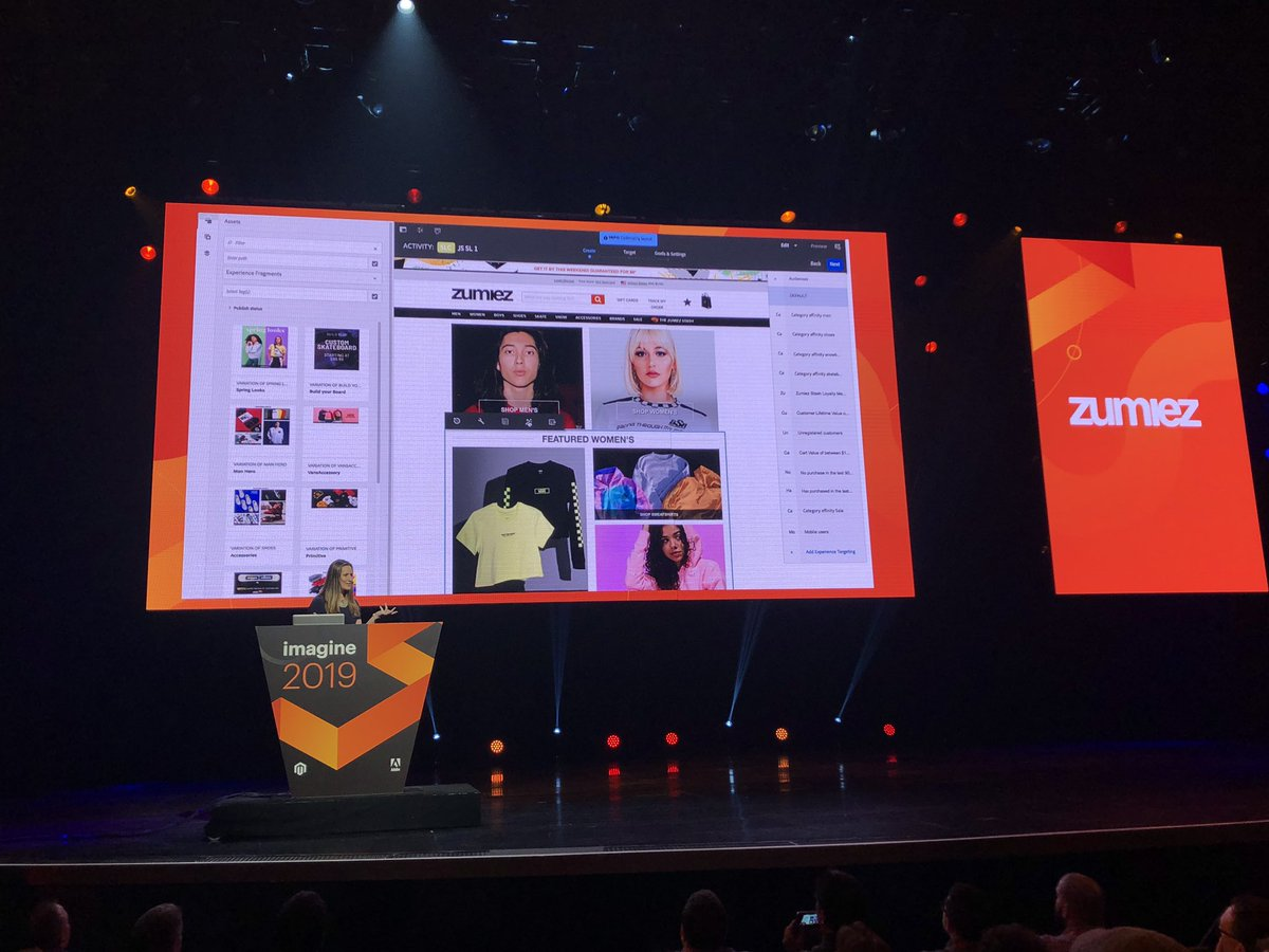"""GoldieChan: """"Just like magic, smart layout allows you to do this at scale."""" @jennifer_small2 @adobe #magentoimagine x @zumiez https://t.co/BWKMYLUGXp"""