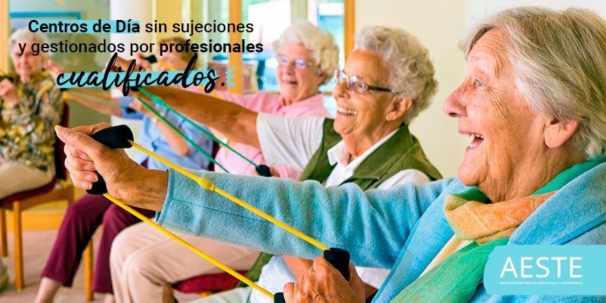 test Twitter Media - 📌Hay aproximadamente 95.000 #PersonasMayores en España que utilizan los #CentrosDeDía.  🏸Las ventajas de los centros de los #AESTEasociados son: actividades deportivas, fisioterapias, higiene, comida, terapia ocupacional, entre otras. https://t.co/5Vr4sQ52zu https://t.co/ylKZdSoUpp