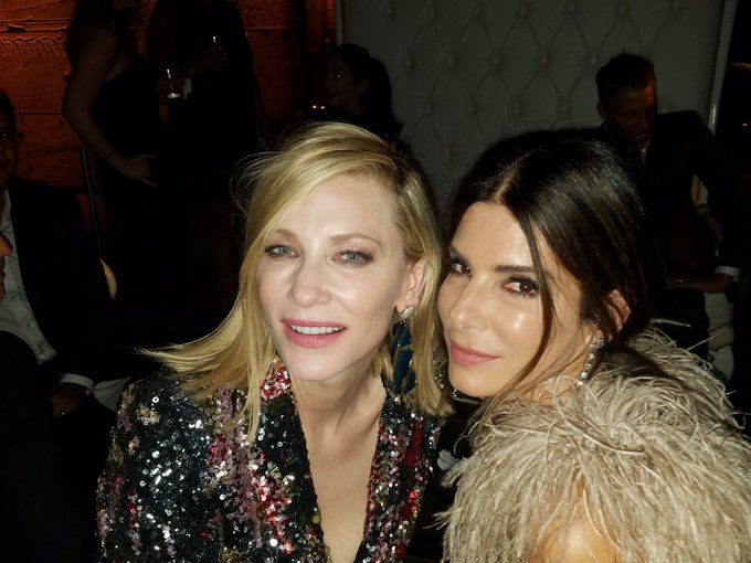Happy birthday cate blanchett p.s i miss you and sandra bullock so much