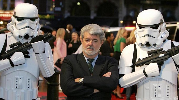 Happy Birthday to the legendary George Lucas!