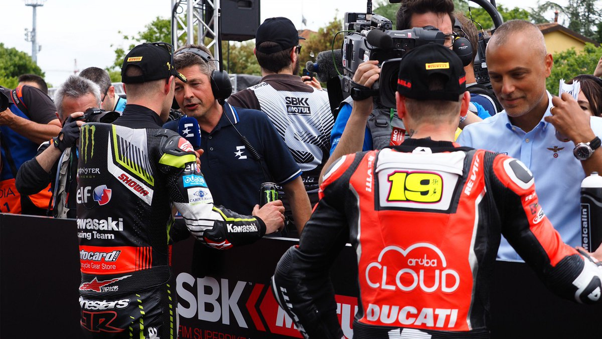 test Twitter Media - 💬 In conversation: The best quotes from Imola!  From riders making the difference to motherhood and going running in Race 1, the weekends top quotes are here! 👇🏻  #ITAWorldSBK 🇮🇹  📃| #WorldSBK  https://t.co/RIbVPrwlxd https://t.co/noxRoQciNX