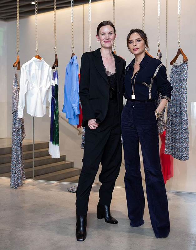 Fun evening talking about business and leadership with @jellison for the London Women's Forum at #VBDoverSt. x VB https://t.co/0VpmFmtGSL