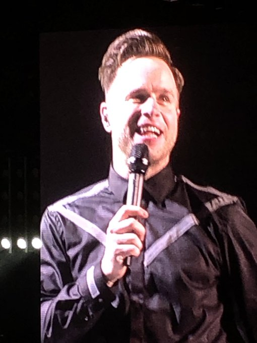 Brilliant show last night Dublin,thank you Olly Murs ,Happy Birthday