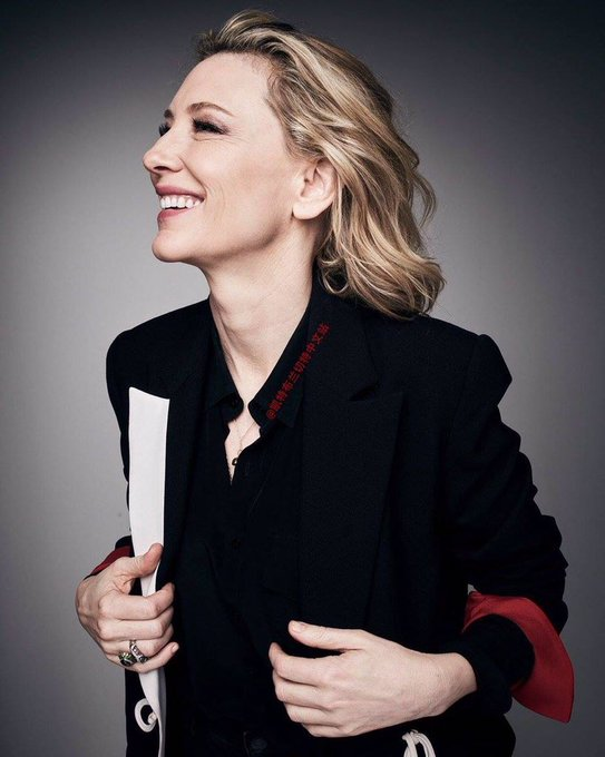 Happy birthday to the love of life, cate blanchett
