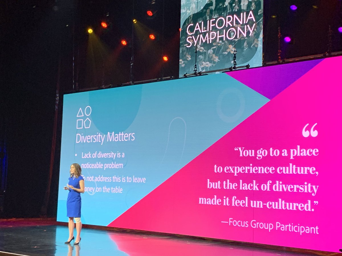 wsadaniel: The @CAsymphony learned that Diversity Matters in so many ways. - @AubreyBergauer #MagentoImagine https://t.co/RQRBBYIGXV