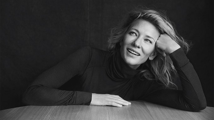 Happy 50th birthday to my wife, Cate Blanchett. Because OF COURSE she was born in \69.