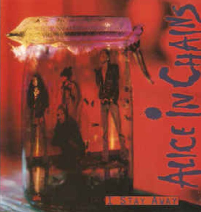 Alice In Chains I Stay Away from the EP Jar Of Flies. Happy Birthday to bassist Mike Inez!