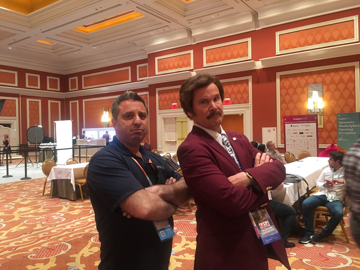 CertiProS: Guess who we met today! Booth #706 at #MagentoImagine come on by! #MagentoImagine #SageSummit #Magento #Wynn https://t.co/2y1OHpi0kI