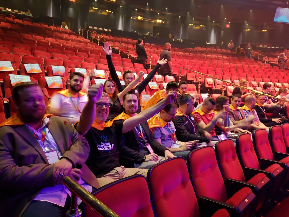 magento: #MagentoImagine General Session 2 starts soon in the Encore Theater! You might even spot a few #MagentoMasters 🤩🧡📷 https://t.co/d3X9ce8OqI