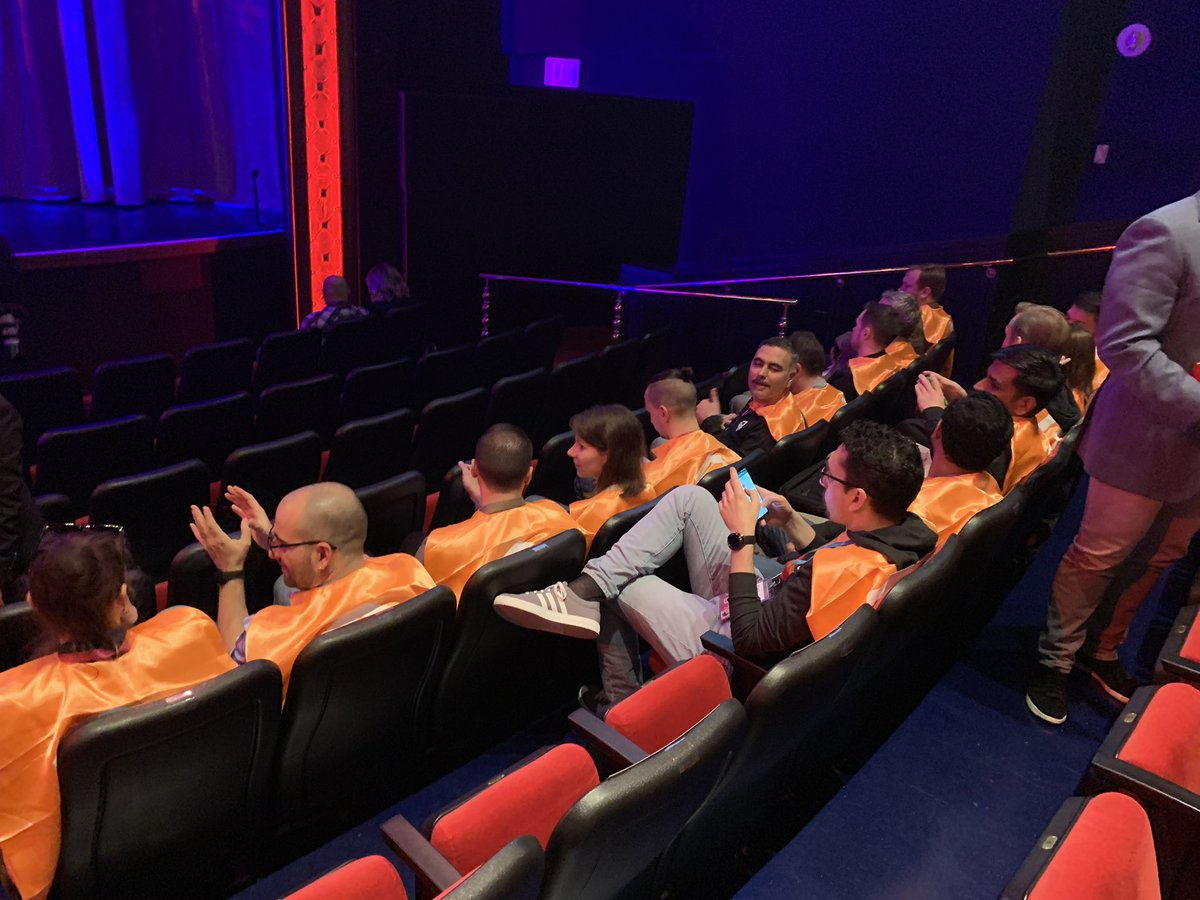 JoshuaSWarren: Who are these orange caped crusaders poised ready to take the stage at #MagentoImagine? https://t.co/ODPzXULofm