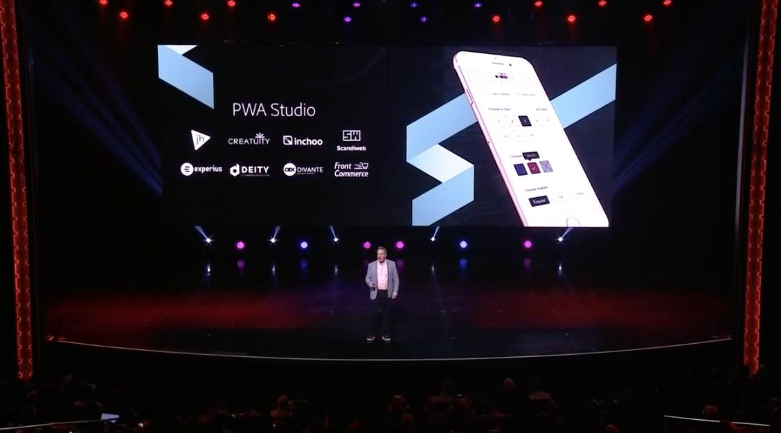 jhuskisson: Great to see @weareJH featured here at #MagentoImagine as a leader in #PWA https://t.co/kR7LdfmeMi