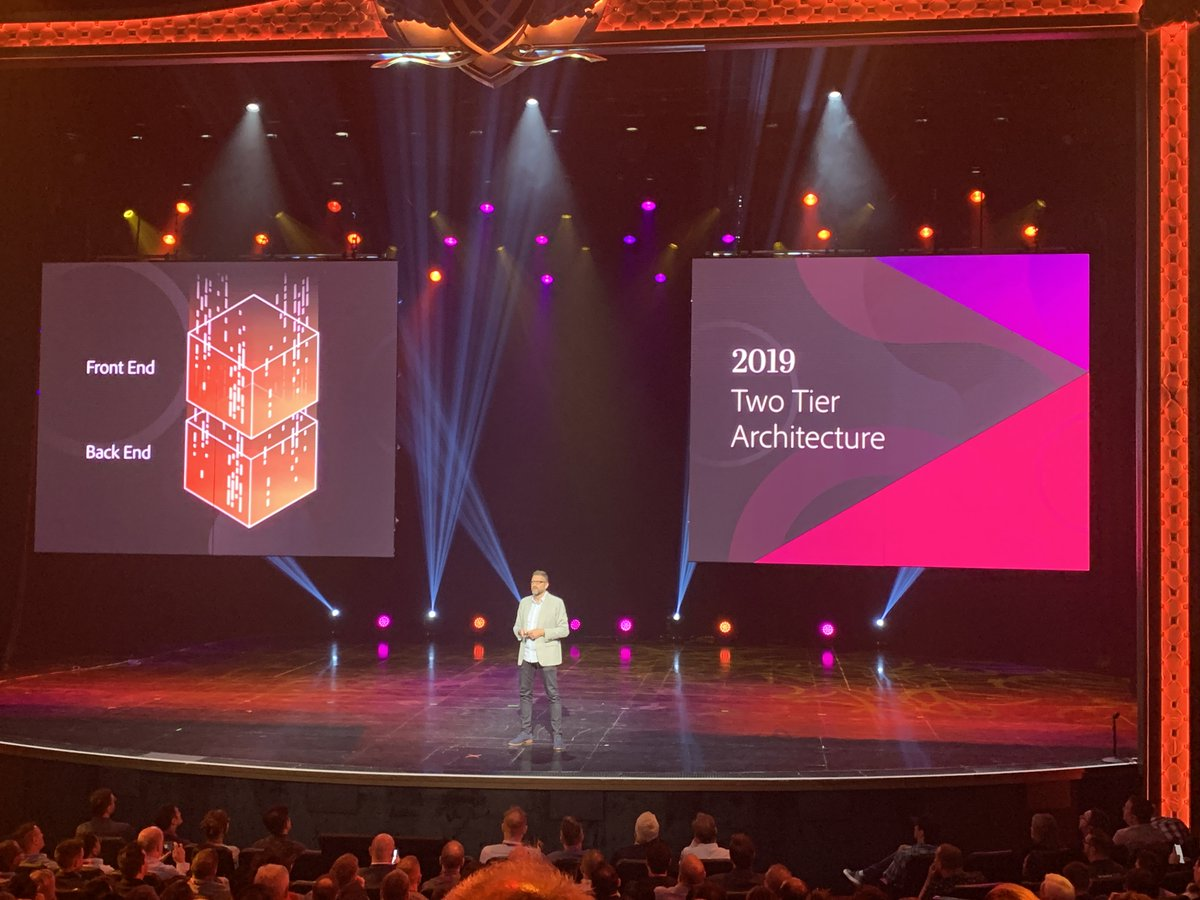 brentwpeterson: Magento is really innovating and scaling for clients. #magentoimagine https://t.co/H192NUpr2t